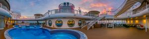 Disney Fantasy Quiet Cove Adult Pool Virtual Tour