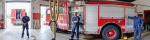 Fire Fighters and Detroit Fire Department Virtual Tour