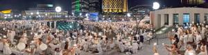 Dinner in White of Montreal 2012 panoramas