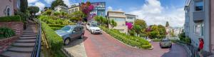 Lombard Street in San Francisco Crookedest Street in the World Virtual Tour