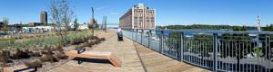 Belv�d�re du Chemin-qui-Marche New Park in Old Montreal