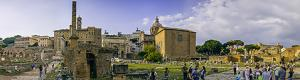 Roman Forum Temple of Castor and Pollux virtual visit