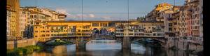 Panoramas of the Vecchio Bridge in Florence and interactive virtual tour