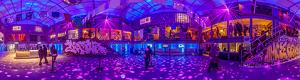 Cour RBC at Montreal en lumiere festival 2014 in 3D tour